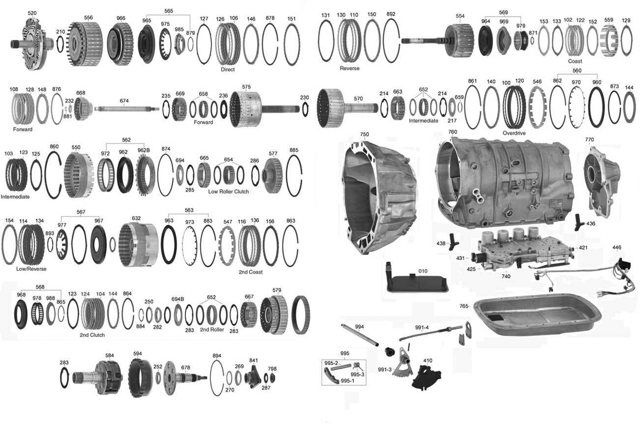 42rh transmission diagram